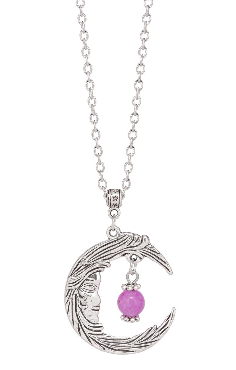 collier lune gothique